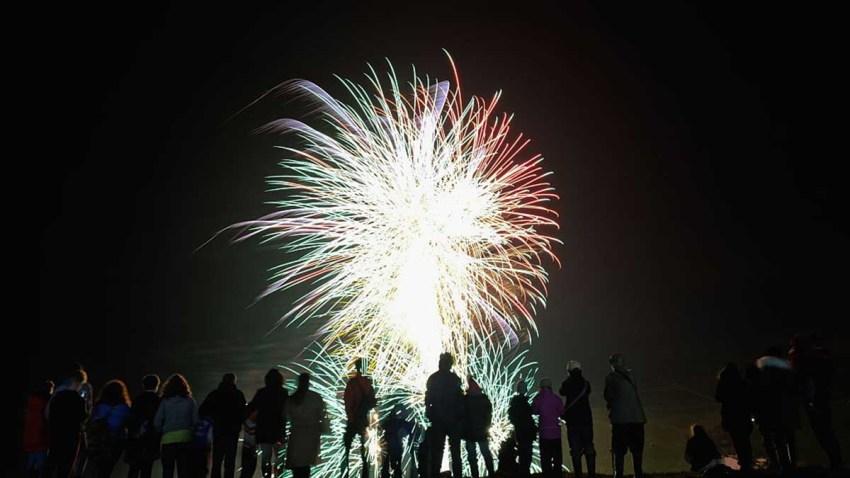 070217 fireworks generic people watching