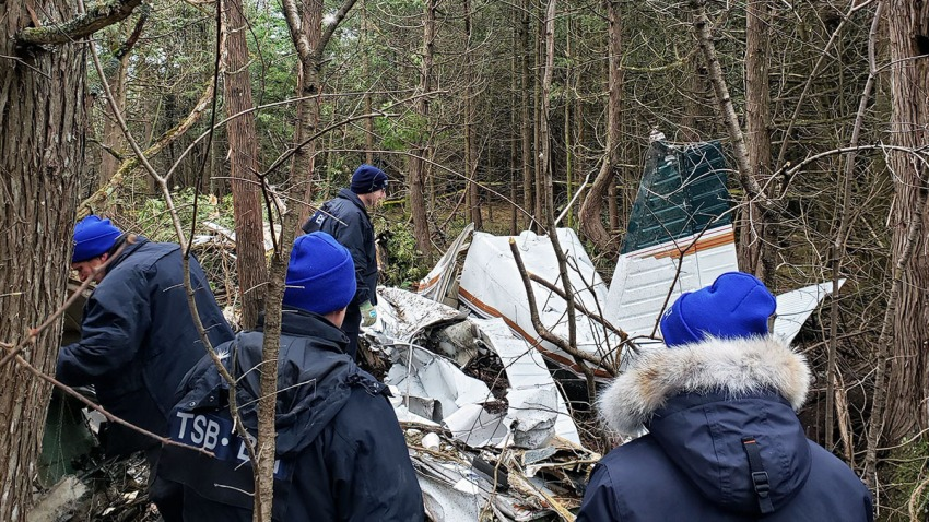 112819 Canada Crash Plane