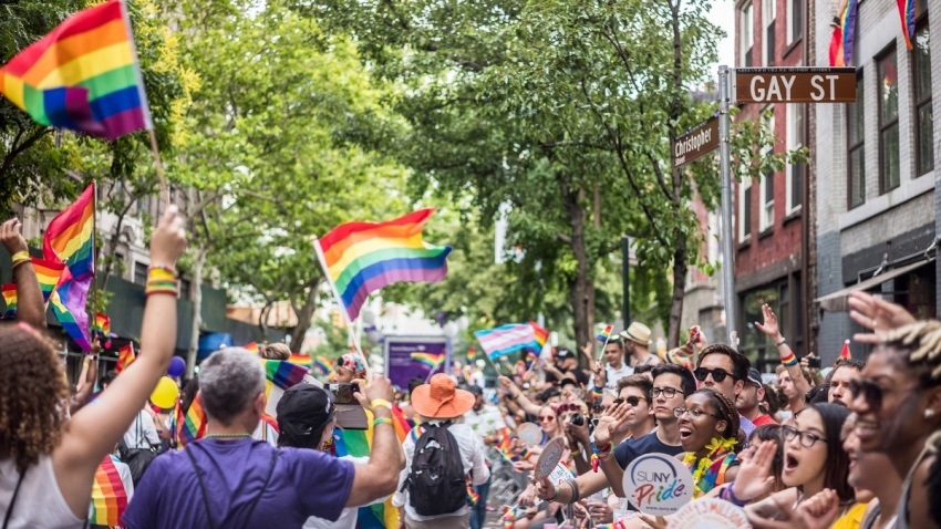 2018 NYC Pride March Getty Images