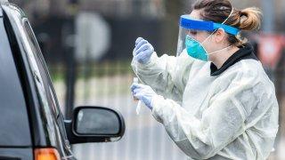 National Children's Hospital's new coronavirus testing drive-thru