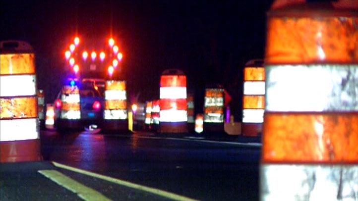 traffic cones road work