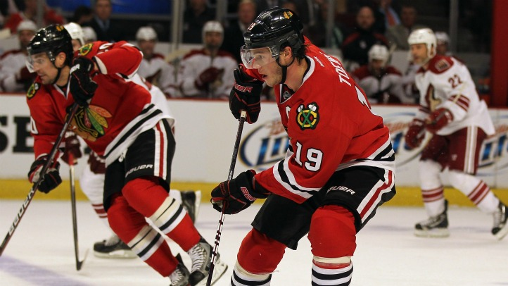 Jonathan Toews Game 3 2012