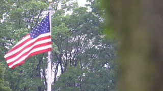 American Flag Sabold Elementary School