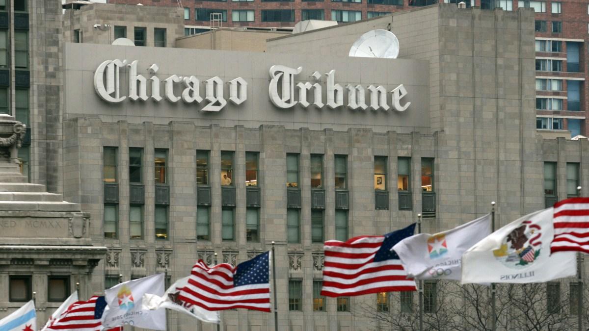 2 Top Chicago Tribune Editors Leaving as Part of Shakeup
