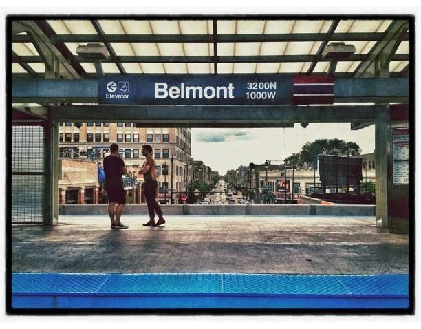 [chicagogram] #squaready#chicago #cta #chicagogram #instamood #iphoneography #igaddict #abphotographie #transportation #belmont #redline