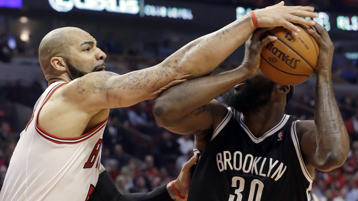 Nets Bulls Basketball