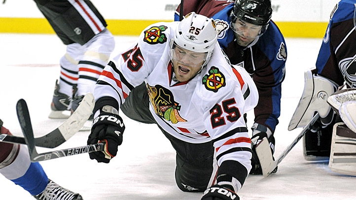 Blackhawks Avalanche Hockey