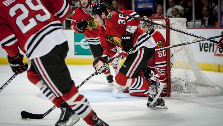 Capitals Blackhawks Hockey