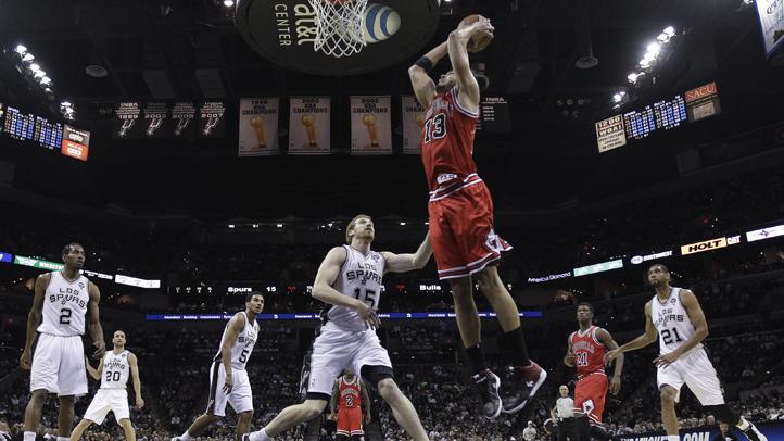 Bulls Spurs Basketball