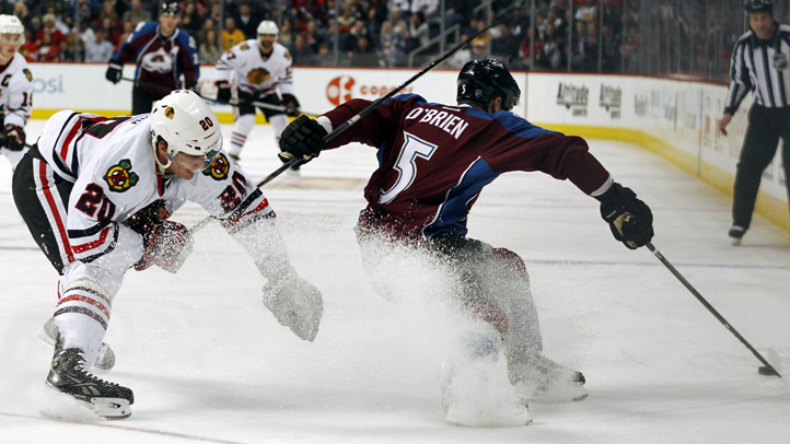 Blackhawks Avalanche Hockey