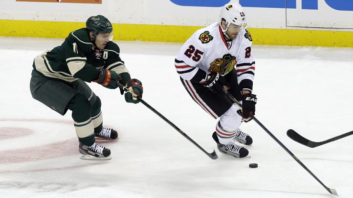 Blackhawks Wild Hockey