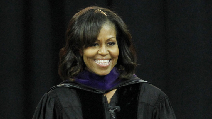 Michelle Obama Bowie State