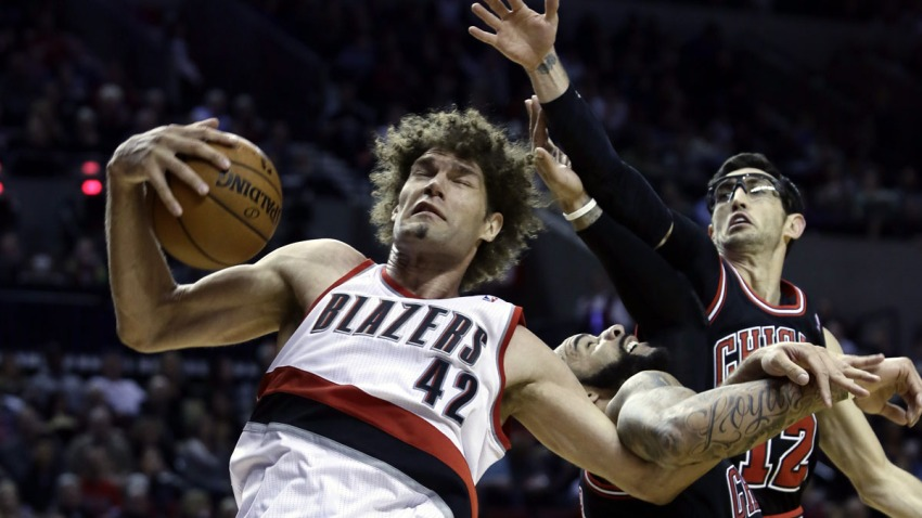 Bulls Trail Blazers Basketball