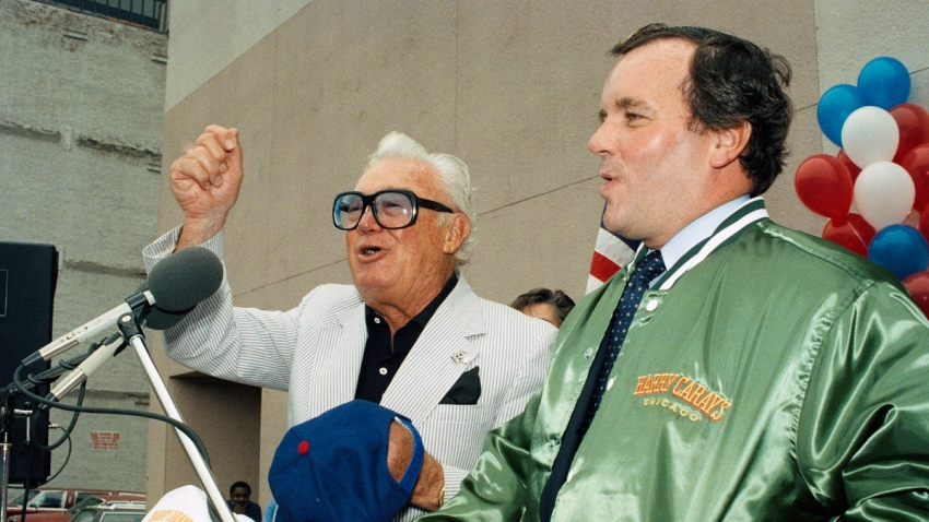Harry Carey and Richard M. Daley