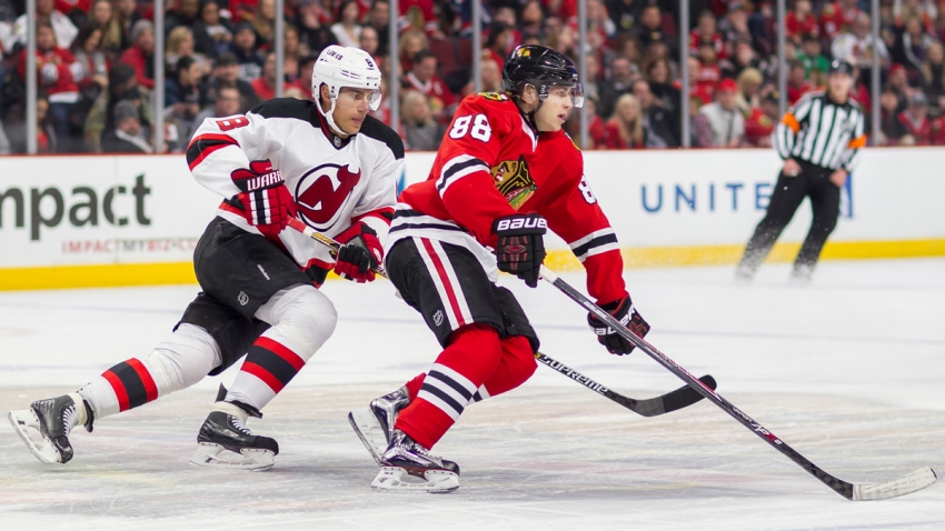 NHL 2015: Devils vs Blackhawks FEB 13