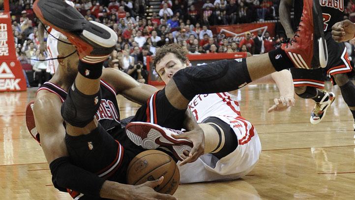Bulls Rockets Basketball