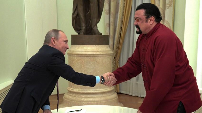Russia Putin US Actor