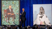 Obama Portraits Headed for Chicago on First Stop of Cross-Country Tour