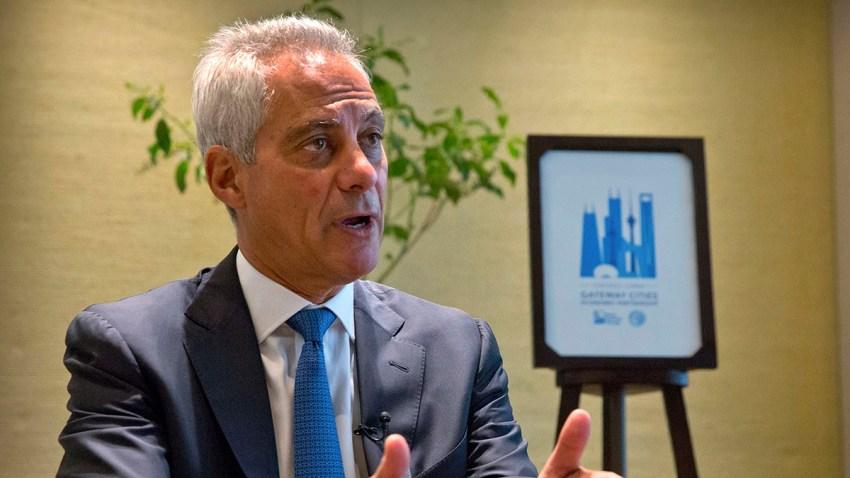 China US Tariffs Chicago Mayor