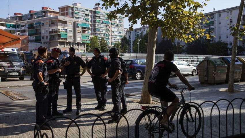 Spain Suspect Shot