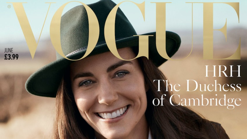Britain Royals Vogue