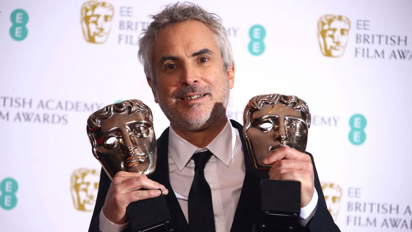 APTOPIX Britain BAFTA Film Awards 2019 Winners Room