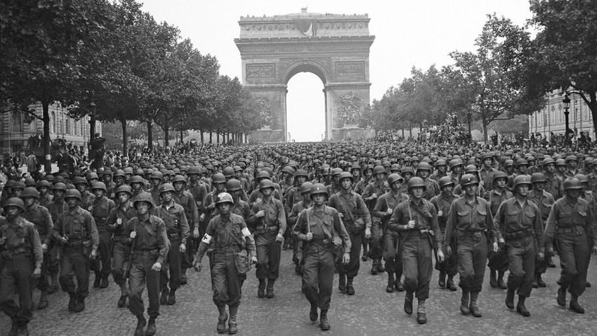 France Liberation of Paris