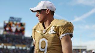NFL quarterback Drew Brees of the New Orleans Saints