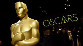 In this Friday, Feb. 15, 2019, file photo, an Oscar statue is pictured at the press preview for the 91st Academy Awards Governors Ball in Los Angeles.