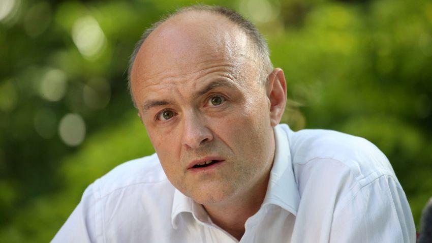 Dominic Cummings, senior aide to Prime Minister Boris Johnson