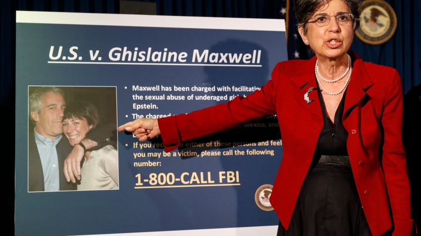Audrey Strauss, Acting United States Attorney for the Southern District of New York, speaks during a news conference to announce charges against Ghislaine Maxwell for her alleged role in the sexual exploitation and abuse of multiple minor girls by Jeffrey Epstein, Thursday, July 2, 2020, in New York.