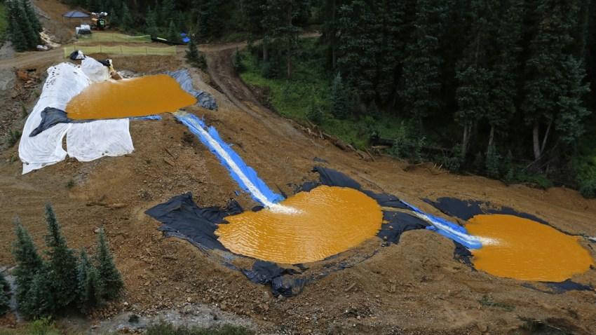 Mine Waste Leak