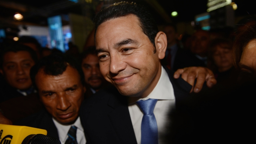 APTOPIX Guatemala Election