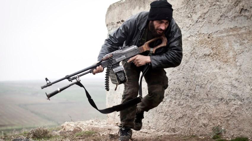 Mideast Syria Rebel Training