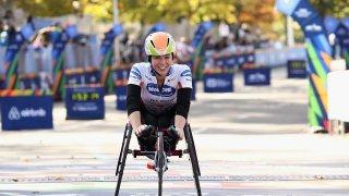 Talented American Trio Get Top Billing in Women's Wheelchair Race