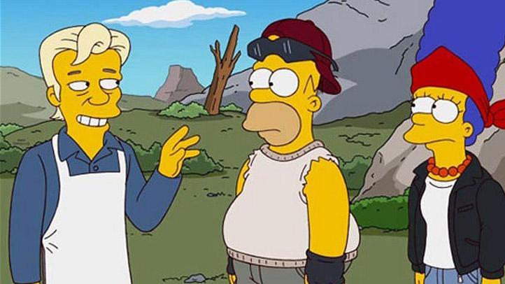 Assange Simpsons