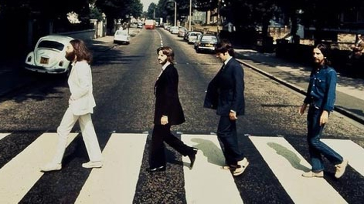 Beatles abbey road reverse