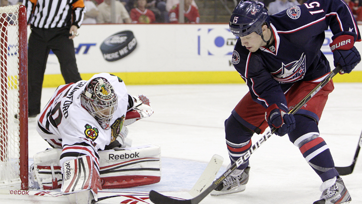 Blackhawks Blue Jackets Hockey