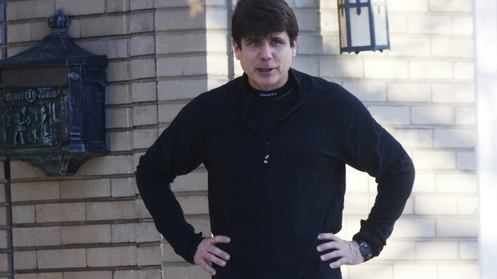 Blagojevich Track Suit new