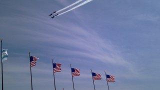 Blue Angels Flags Thom