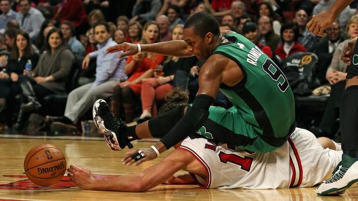 Bulls Celtics Intense