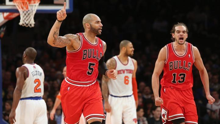 Bulls Defeat Knicks