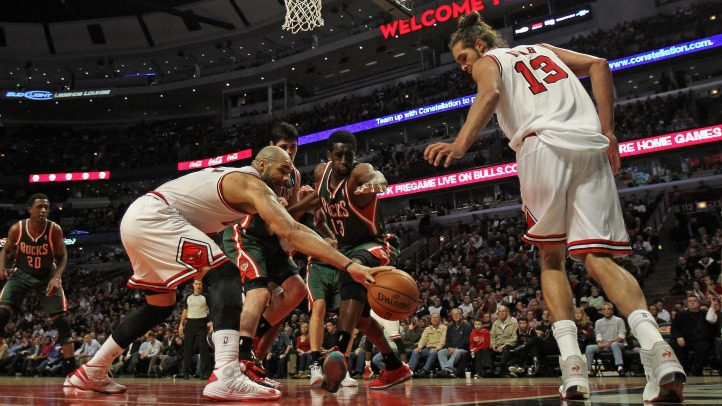 Bulls Fall to Bucks