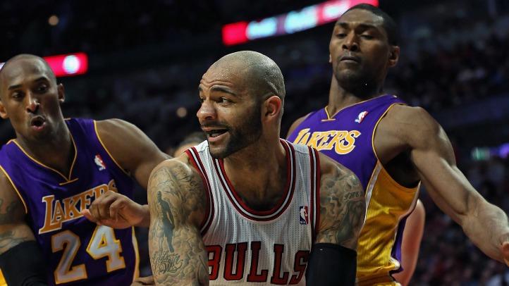 Bulls Get Past Lakers