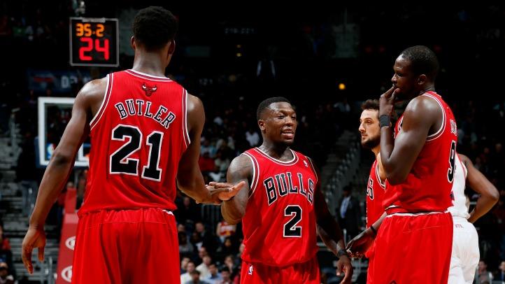 Bulls Impressive Shorthanded