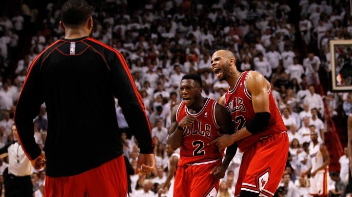 Bulls Shock Heat