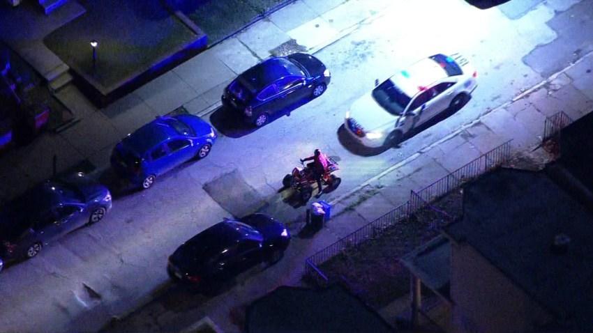 Man on ATV Taken Into Custody