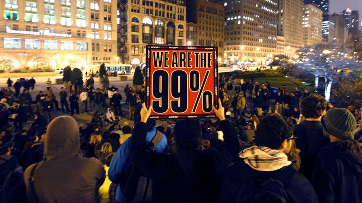 Occupy Marches Chicago