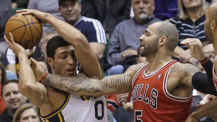 Bulls Jazz Basketball