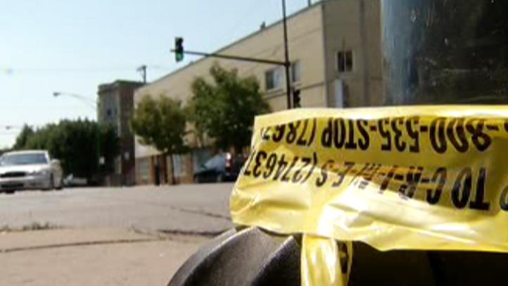 Chicago Crime Tape